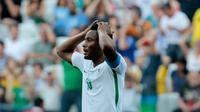 Gelandang Chelsea asal Nigeria, John Obi Mikel. (AFP/Miguel Schincariol)