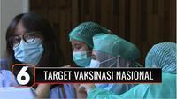 Kementerian Kesehatan menyatakan target pemberian 700 ribu vaksin Covid-19 per hari telah dicapai pada bulan Juni ini. Ini adalah langkah awal dari target 1 juta vaksin per hari pada Juli mendatang, yang diminta Presiden Joko Widodo.