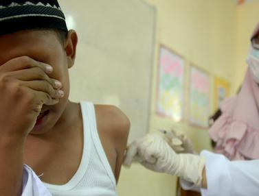 Vaksinasi Anti Virus Difteri di Aceh