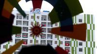 Bendera negara peserta Asian Games 2018 terpasang di luar kamar Hotel Wisma Atlet Jakabaring, Palembang, Sabtu (18/8). Kementerian PUPR juga membangun venue, infrastruktur, fasilitas penunjang serta penataan kawasan. (INASGOC/Zabur Karuru)