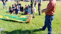 Direktur Utama AirNav Indonesia, M. Pramintohadi Sukarno, mengatakan, hingga Senin, 1 Juni 2020, pihaknya hanya menerima tiga laporan pilot mengenai gangguan balon udara liar selama periode lebaran 2020 ini. (Foto:Liputan6/Pramita Tristiawati)
