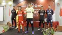 Semen Padang meluncurkan tim untuk kompetisi Liga 2 2020. (Bola.com/Arya Sikumbang)