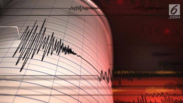 Gempa mengguncang Lebak, Banten pukul 12.25 WIB, Sabtu (7/7/2018). Badan Meteorologi Klimatologi dan Geofisika (BMKG), melaporkan gempa tersebut berkekuatan lebak 4.1 Skala Richter di kedalaman 5 km