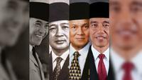 Presiden RI yang lahir pada Juni. (Liputan6.com/Rochmanuddin)