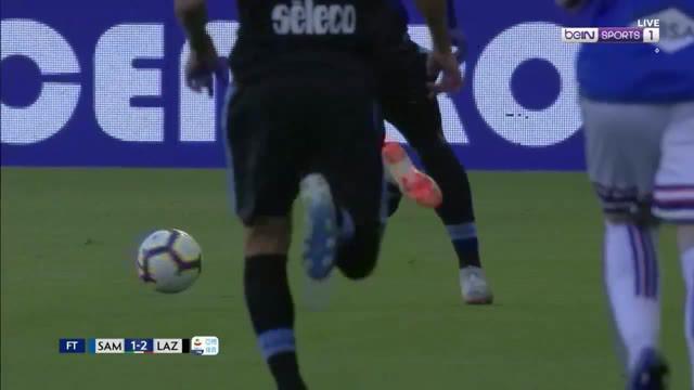 Berita video highlights Serie A 2018-2019 antara Sampdoria melawan Lazio yang berakhir dengan skor 1-2 di Stadio Comunale Luigi Ferraris, Minggu (28/4/2019).