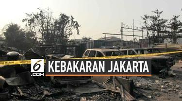 Kebakaran menghanguskan belasan mobil dan motor terjadi di kawasan Pademangan. Lokasi kebakaran adalah penitipan mobil tidak resmi yang dikelola warga setempat. Lokasi tersebut berada di tanah milik PT. KAI