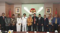 Pelantikan gubernur terakhir hasil pilkada dari Maluku, Maluku Utara, dan Lampung.