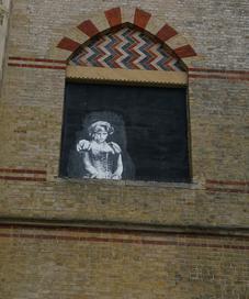 Putri Diana street wall art (pixabay.com)