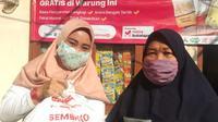 EMTEK Peduli Corona Menyalurkan Paket Sembako kepada Masyarakat Terdampak Pandemi Melalui 50 Warung Mitra Bukalapak di Jabodetabek. (Emtek)