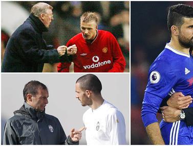 5 Pertikaian Antara Pemain dan Pelatih di Dunia Sepak Bola
