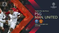 Paris Saint-Germain vs Manchester United (Liputan6.com/Abdillah)