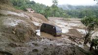 Longsor terjadi di Tana Toraja (Liputan6.com/Eka Hakim)