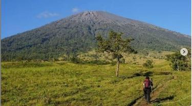 Usai Liburan Natal dan Tahun Baru, Gunung Rinjani Akan Ditutup 3 Bulan