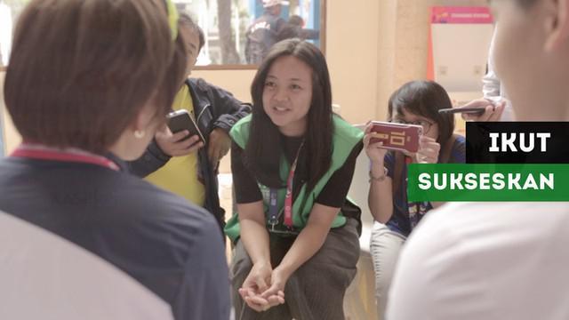 Berita video wawancara salah satu penerjemah bahasa Korea di Asian Para Games 2018.