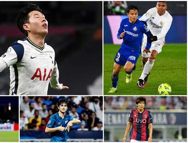 FOTO: Daftar Pemain Asia Paling Berharga, Son Heung-min Tembus 1 Triliun