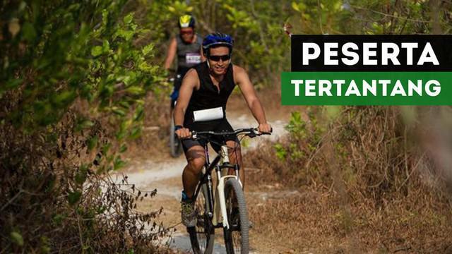 Peserta Rhino X Triathlon 2017 di Tanjung Lesung, mengaku puas dan tertantang untuk kembali tampil pada ajang serupa tahun depan.