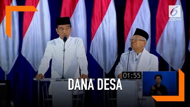 Jokowi mengklaim berkat desa masyarakat menjadi lebih makmur lewat dana triliunan yang dikucurkan.