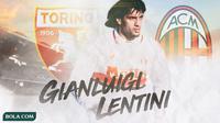 Gianluigi Lentini - Torino dan AC Milan (Bola.com/Adreanus Titus)