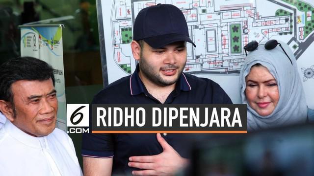 Penyanyi dangdut Ridho Rhoma harus kembali masuk ke penjara setelah kasasi yang diajukan Jaksa Penuntut umum dikabulkan oleh Mahkamah Agung.