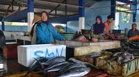 Tongkol dan cakalang menjadi andalan nelayan Cilacap. (Foto: Liputan6.com/Muhamad Ridlo)
