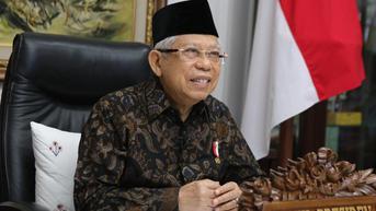 Ma'ruf Amin Sebut Pemerintah Tengah Siapkan Skema Indonesia Hadapi Endemi Covid-19