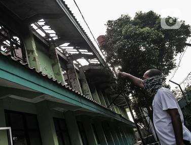Kondisi SMAN 100 Jakarta yang Ludes Dilalap Si Jago Merah