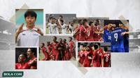Kolase - Timnas Indonesia, Shin Tae-yong, Timnas Vietnam, Thailand, dan UEA (Bola.comAdreanus Titus)