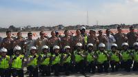 Kapolri Jenderal Idham Azis meresmikan Pusat Berkendara dengan Aman atau Indonesia Safety Driving Center (ISDC) di Serpong, Tangerang Selatan, Banten, Selasa (11/2/2020). (Liputan6.com/Yopi Makdori)