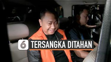 Bupati Lampung Utara Agung Ilmu Mangkunegara resmi menjadi tahanan KPK setelah ditetapkan menjadi tersangka kasus dugaan suap proyek di derahnya.