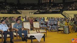 Citizen6, Cilangkap: Ceramah yang diadakan setiap bulan ini menyampaikan tentang suri tauladan Nabi Muhammad SAW semasa hidupnya yang mendapatkan gelar dari Allah SWT dan tertera dalam Al-Quran. (Pengirim: Badarusin Bakri)
