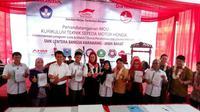 SMK KTSM Honda (Foto: Septian Pamungkas)