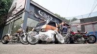 Motor kustom hasil karya builder-builder Indonesia akan tampil dalam sebuah ajang bergengsi yakni 'Custombike Show' pada 30 November – 2 Desember 2018 di Bad Salzuflen, Jerman. (ist)