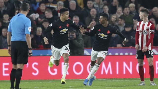 MU Bermain Imbang 3-3 di Markas Sheffield United