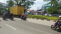 Suasana depan PN Jakarta Timur. (Merdeka.com)