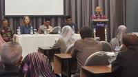 Pelatihan bertajuk perlindungan perempuan berhadapan dengan hukum dan kepentingan terbaik bagi anak di Banda Aceh, Senin (29/4/2019). (Rino Abonita / Liputan6.com)