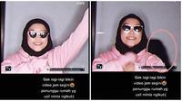 Viral Penampakan Horor. (Sumber: TikTok/ dianaaaans)