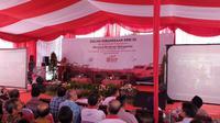 Ketua Gerakan Suluh Kebangsaan Mahfud Md. (Liputan6.com/Nanda Perdana)
