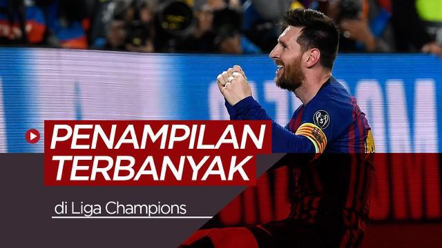 Berita video para pemain sepak bola dengan penampilan terbanyak di Liga Champions, siapa saja mereka?