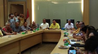 etua Dewan Pakar Partai Golkar Agung Laksono (Liputan6.com/Nafiysul Qodar)