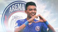 Arema FC - Dedik Setiawan (Bola.com/Adreanus Titus)