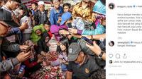 Anggun unggah foto makam BJ Habibie (Foto: Instagram/@anggun_cipta)