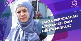 Penuturan Nikita Mirzani soal fakta pernikahannya dengan Dipo Latief.