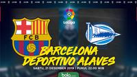 La Liga - Barcelona Vs Deportivo Alaves (Bola.com/Adreanus Titus)