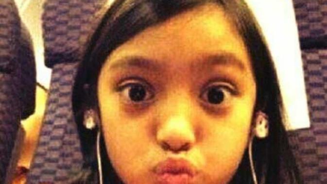 Alleia Anata Irham, putri Ariel NOAH. (Instagram/alleia_anata_irham)