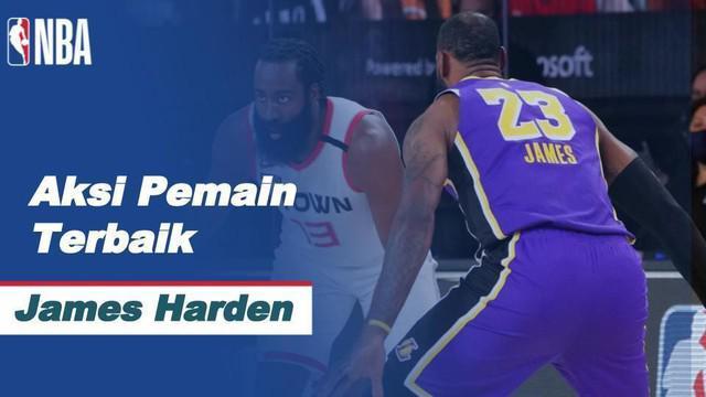 Berita video aksi-aksi terbaik James Harden ketika Houston Rockets mengalahkan Los Angeles Lakers 112-97 pada semifinal wilayah barat NBA 2019/2020, Sabtu (5/9/2020) pagi hari WIB.