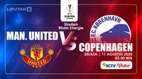 MANCHESTER UNITED VS KOPENHAGEN  (Liputan6.com/Abdillah)