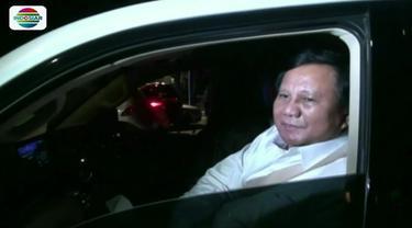 Jelang pilpres, sejumlah tokoh politik temui Prabowo di kediaman Ketum Partai Gerindra tersebut. Sementara AHY, jaring suara pemuda dalam pilpres mendatang.