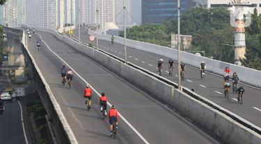 Uji Coba Kedua Road Bike JLNT Kampung Melayu-Tanah Abang