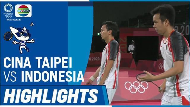Berita Video, Wakil Chinese Taipei Menang Mudah atas Mohammad Ahsan / Hendra Setiawan di Semifinal Olimpiade Tokyo 2020