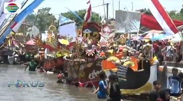 Peringatan Sumpah Pemuda di Pasuruan sejalan dengan program pemerintah setempat yang tengah menggalakkkan kampanye sungai bersih.